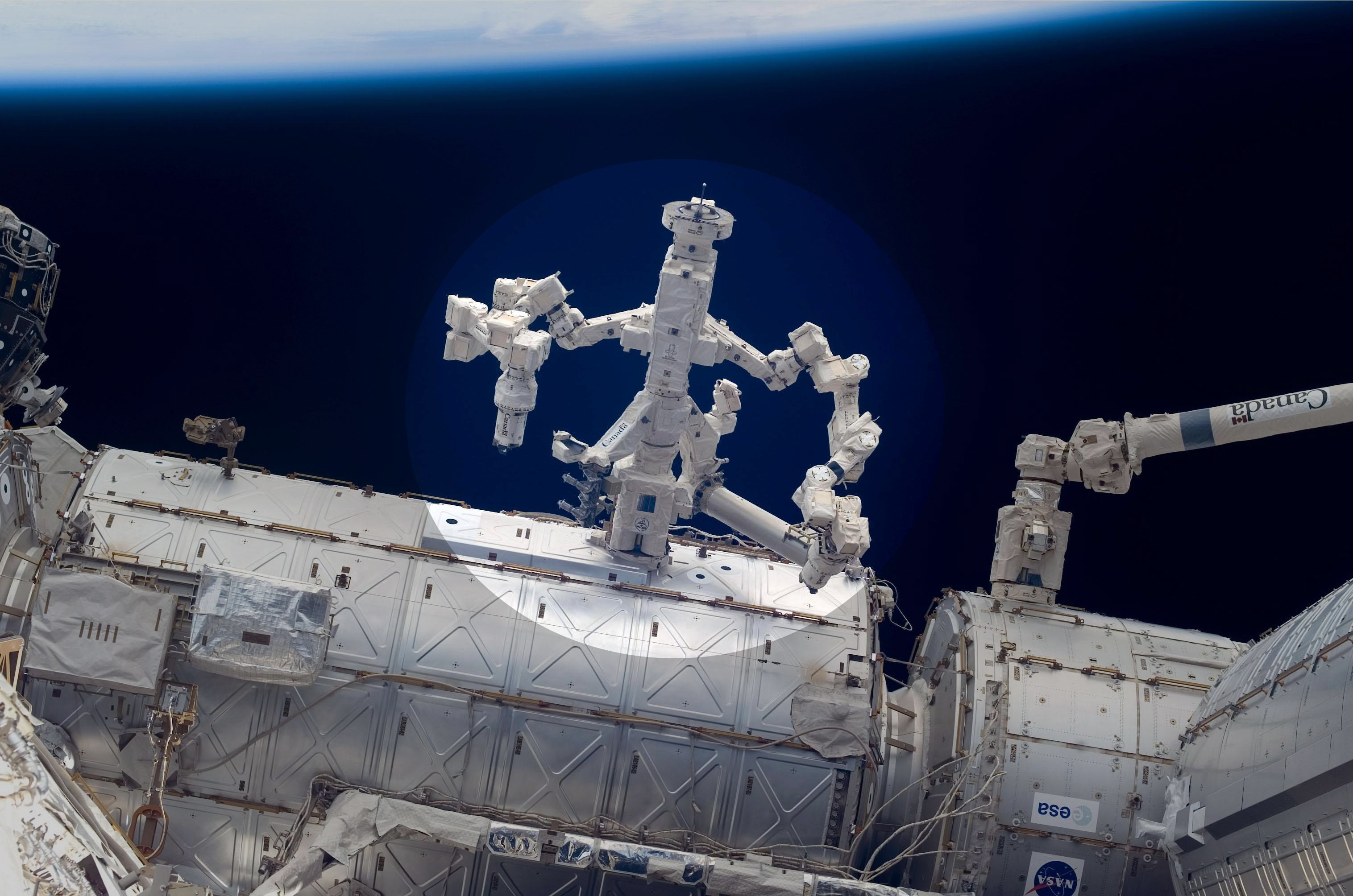 nasa space station robot - photo #10