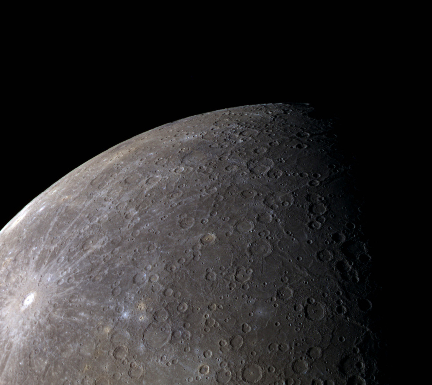 mercury planet size and color - photo #17