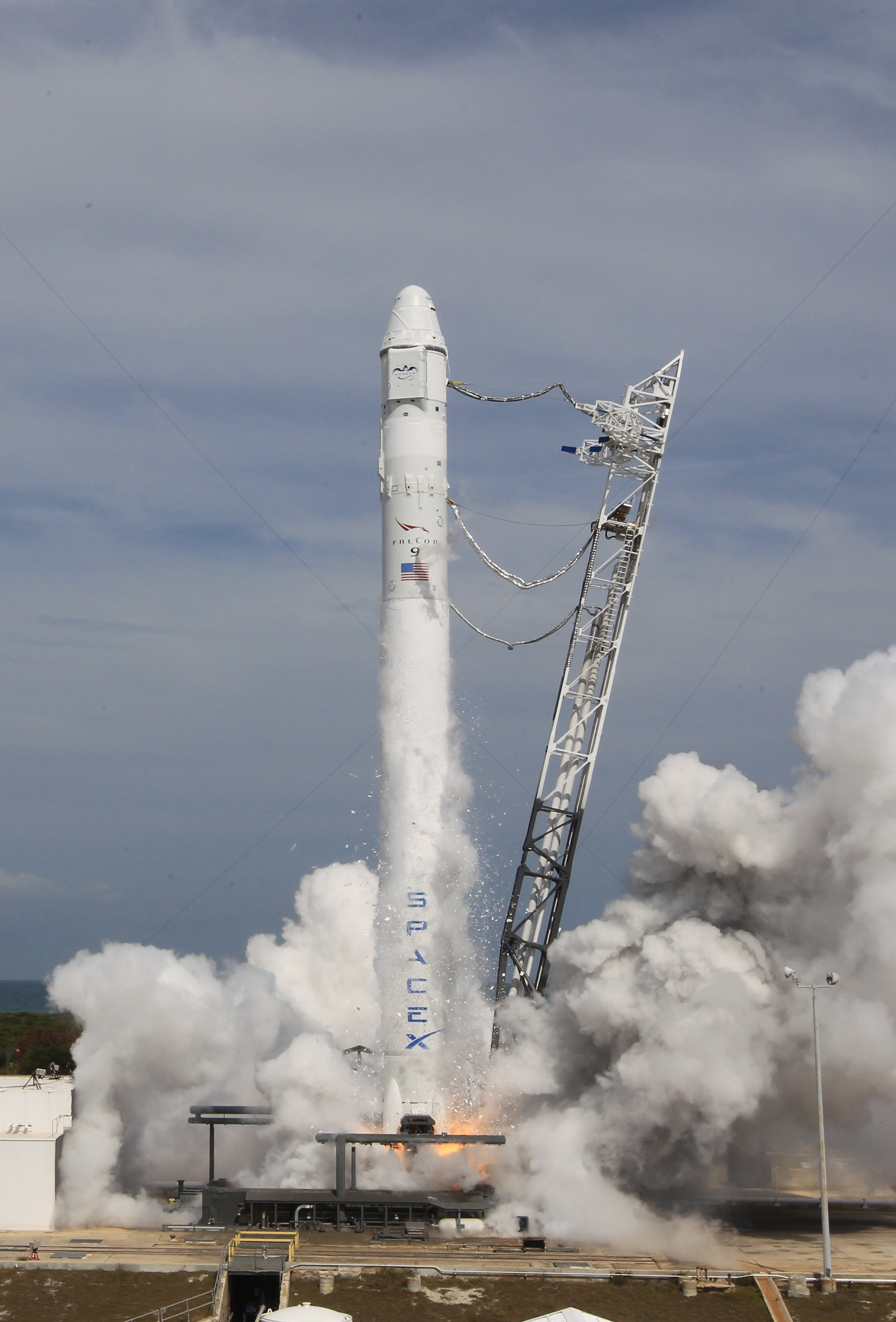 dragon spacex texas launch - photo #9