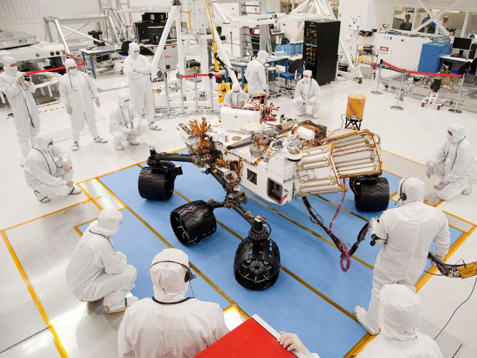 Curiosity and the Issue of Planetary Protection