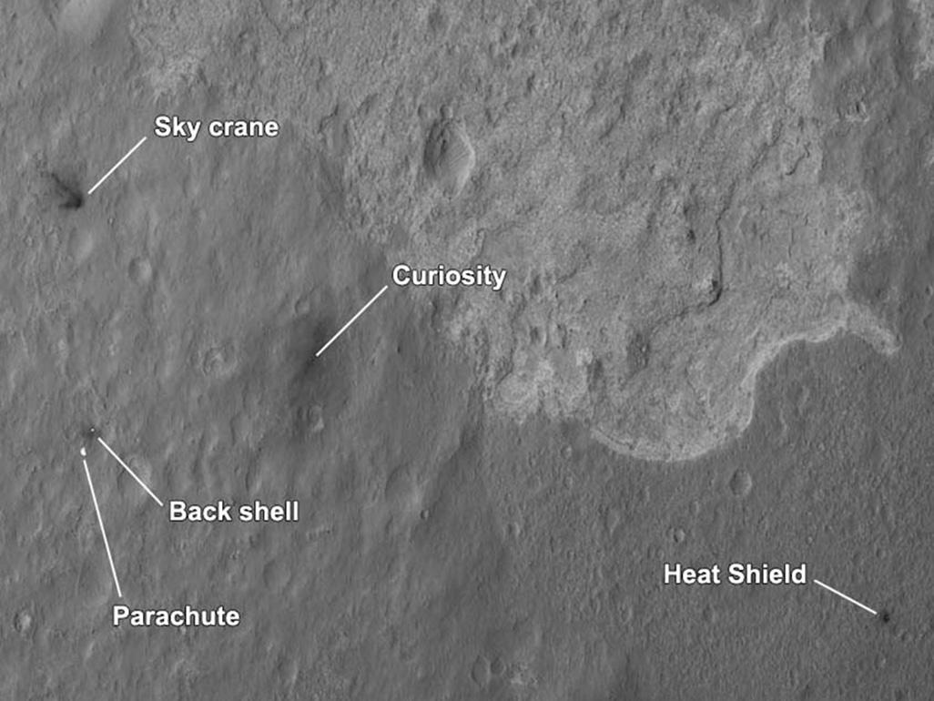 mars rover sky crane - photo #25
