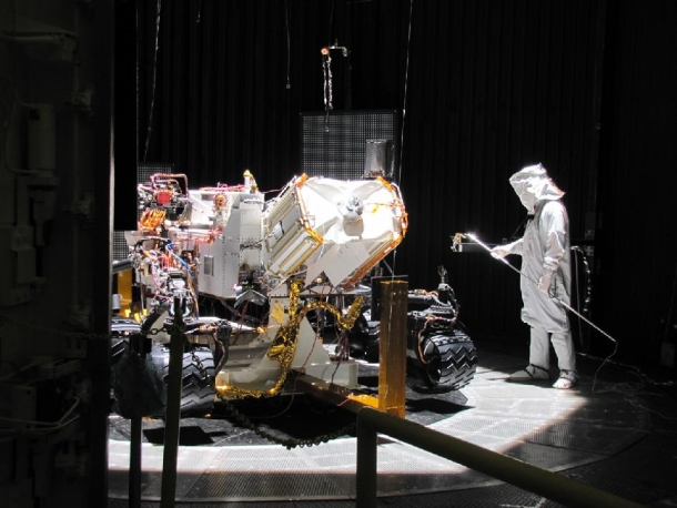 JPL's Torture Chamber for Spacecraft