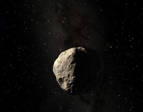 Deflecting Incoming Asteroids with Paintballs