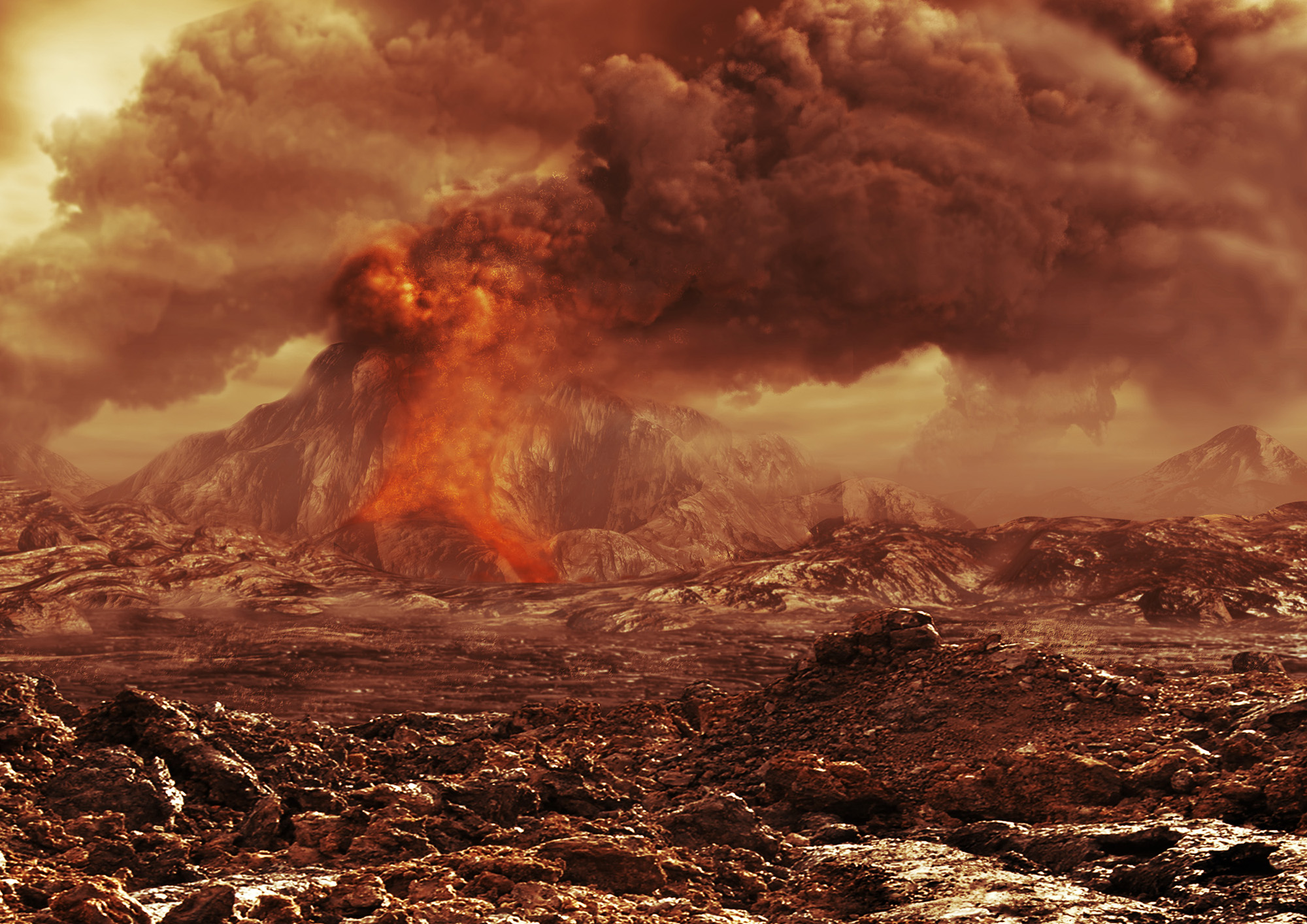 venus volcanoes nasa - photo #4