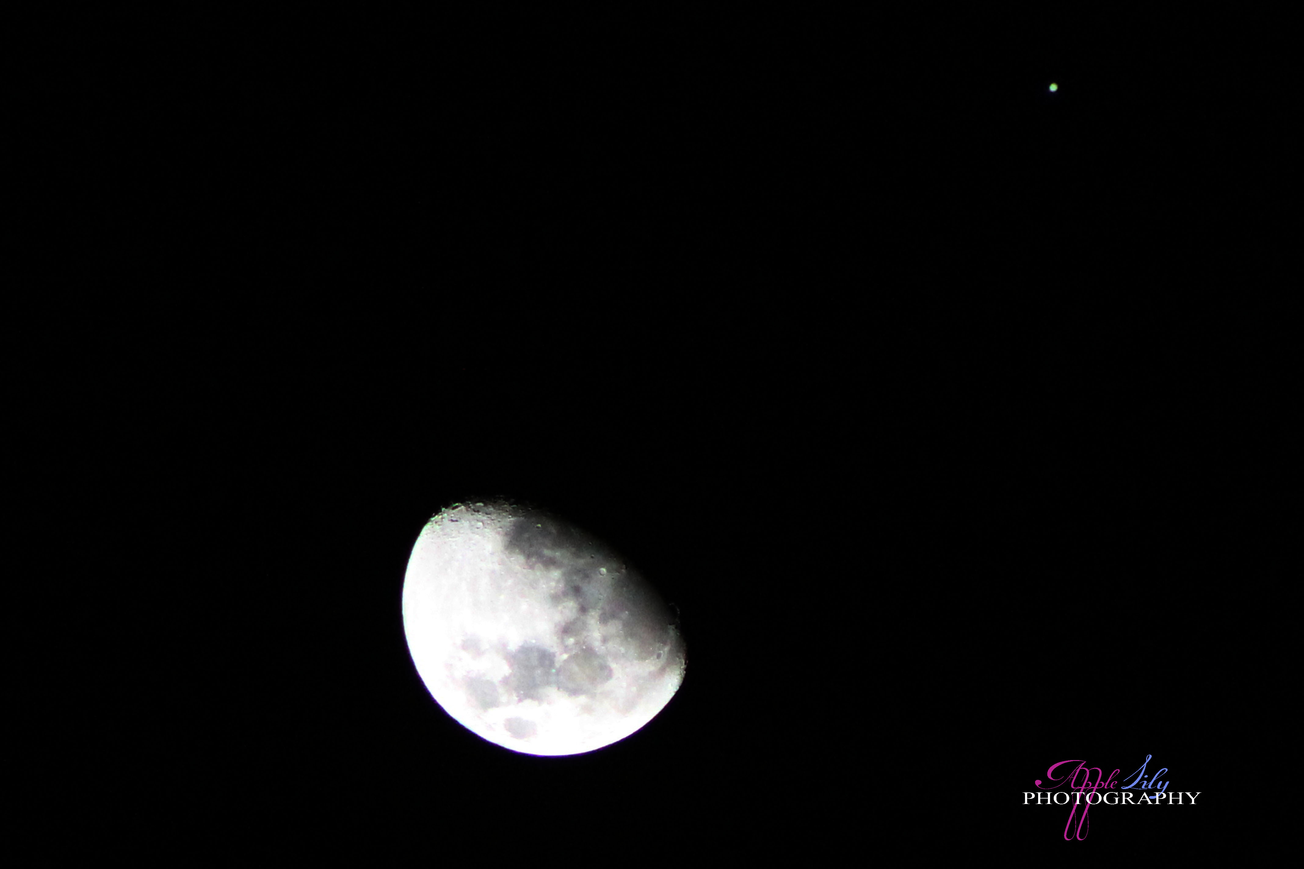 Images of Moon Jupiter Conjunction 2013 - #SpaceMood