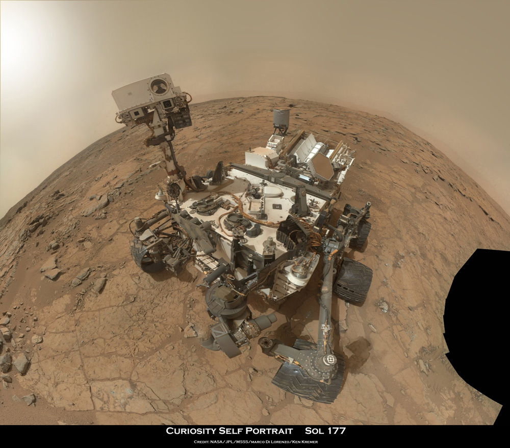 Curiosity Drills Historic 1st Bore Hole into Mars Rock for ...