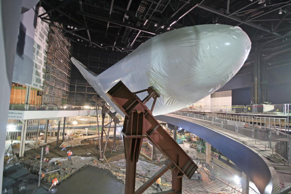 Plastic Wrapped Shuttle Atlantis Slated for Grand Public ...