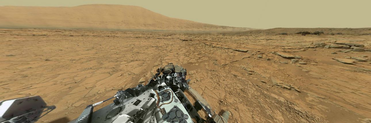 New Ginormous 4 Billion Pixel Panorama from the Curiosity ...