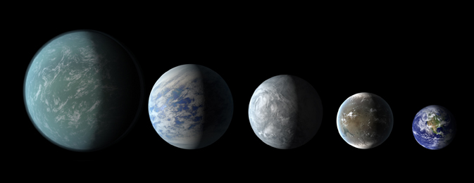 Habitable Worlds? New Kepler Planetary Systems in Images