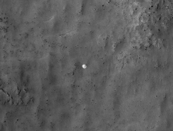 Soviet Lander Spotted by Mars Orbiter