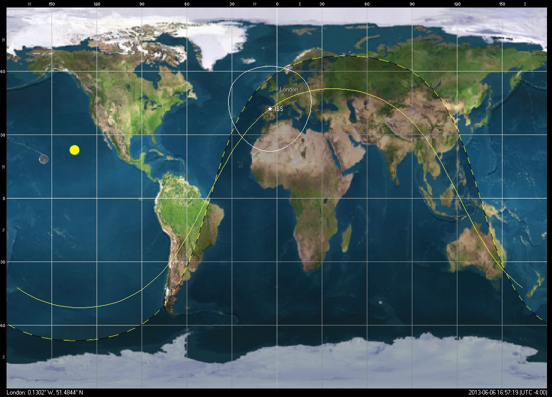 Iss Tracker - Spot The Station: NASA Launches ISS Tracker