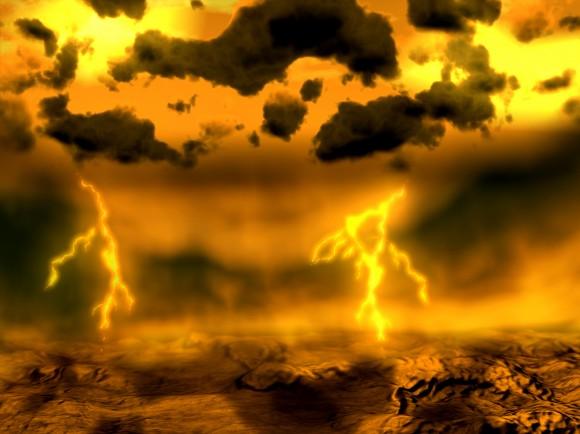 Atmosphere of Venus. Credit: ESA
