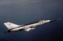 A Sukhoi Su-15 fighter jet (Wikipedia Commons)