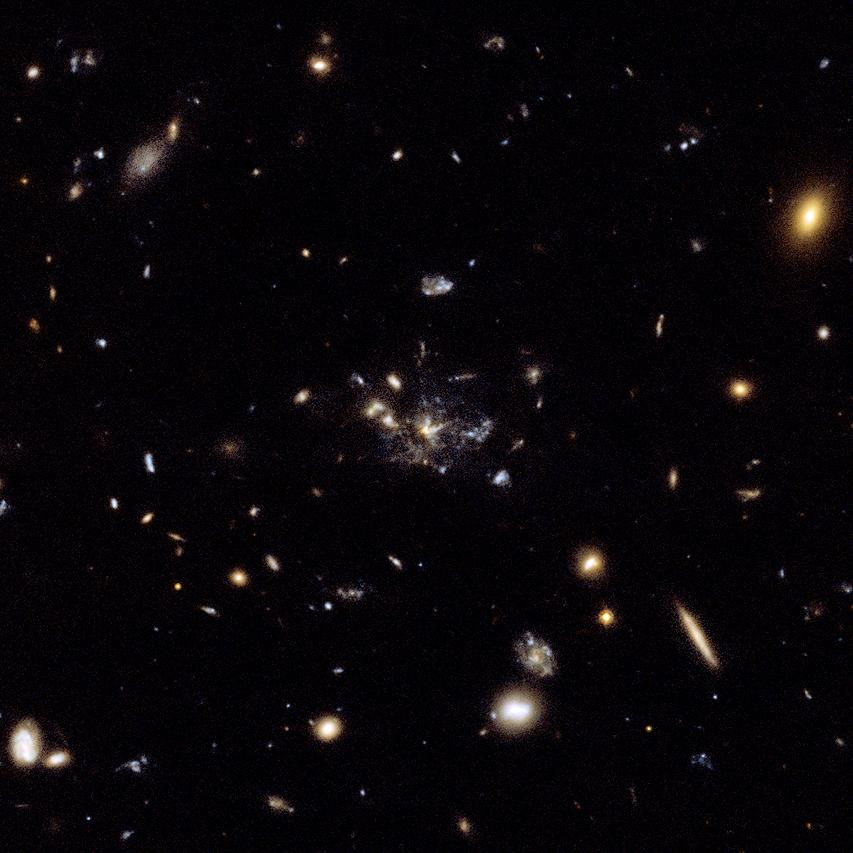 Astronomers Spy Early Galaxies Caught In A Cosmic Spiderweb
