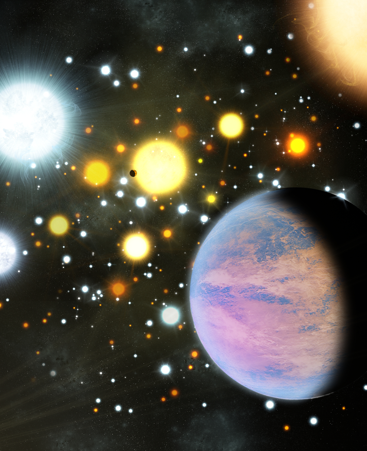 Discovery! More Planets Found Orbiting In A Star Cluster