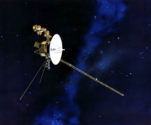 For Voyager 2, out on the edge of our Solar system, conventional navigation methods don't work too well. Credit: NASA