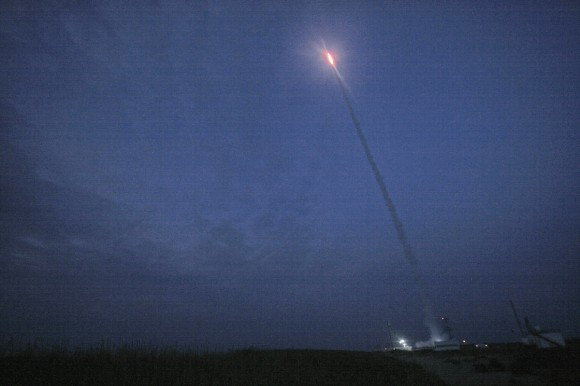 August 13 launch of RockSat-X student science payload atop a Terrier-Improved Malemute suborbital at 6 a.m. EDT from NASA Wallops.   Credit: Ken Kremer/kenkremer.com