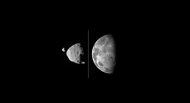 Moon Dance: Curiosity Rover Captures Movie of Phobos and ...