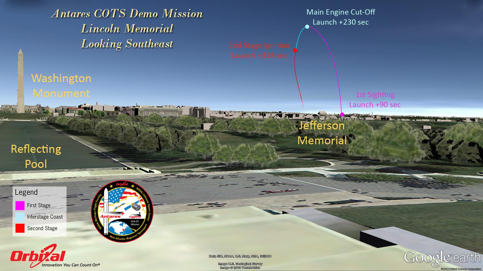 How to See the Historic AntaresCygnus Launch