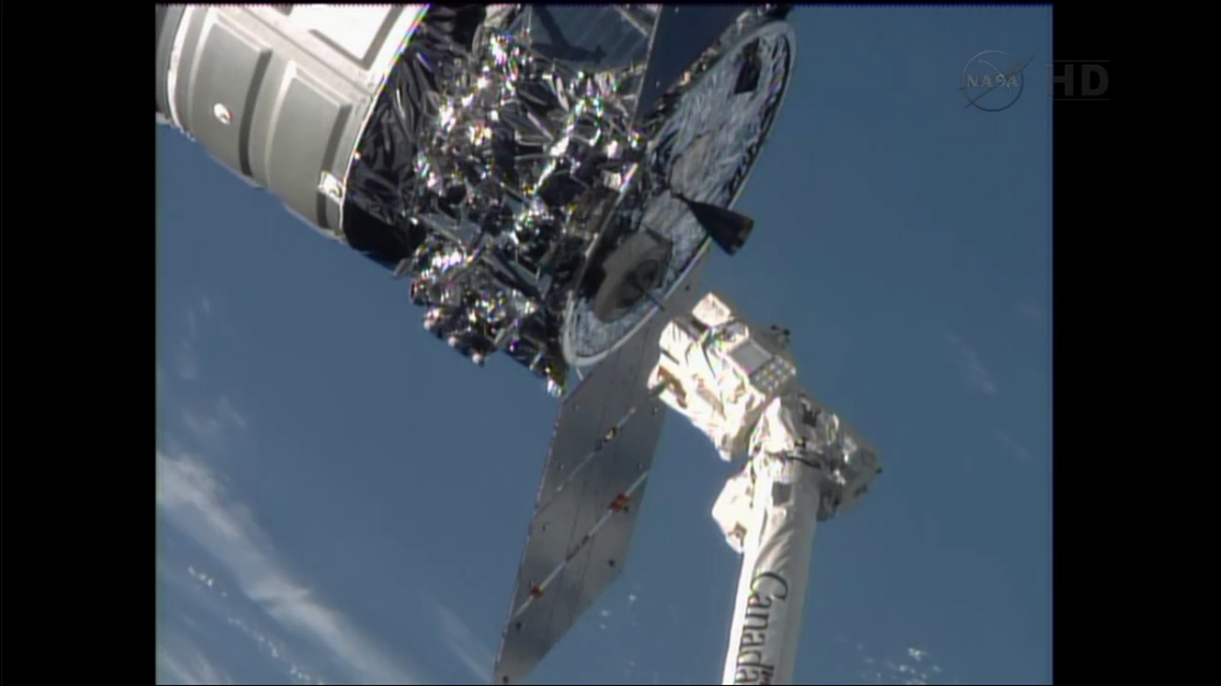 Cygnus Commercial Cargo Craft Completes Historic First ...