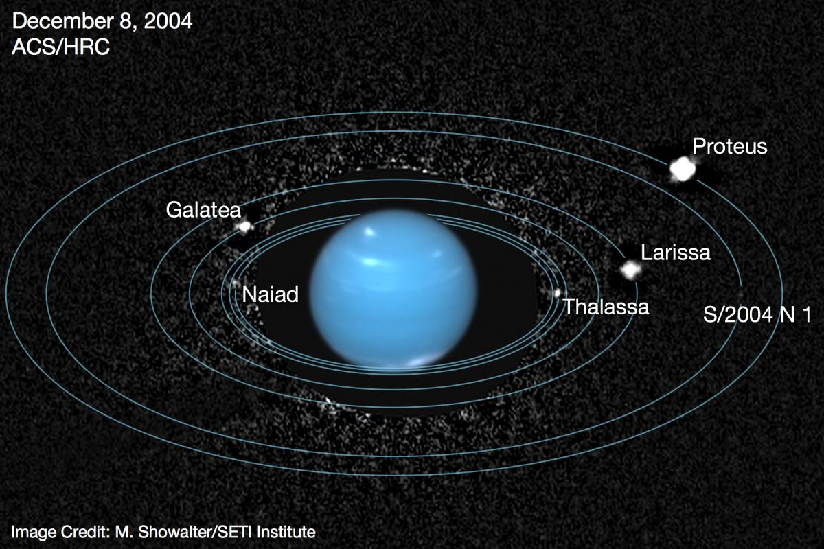 A Tale of a Lost Moon: Hubble Spies Neptune's Moons and ...