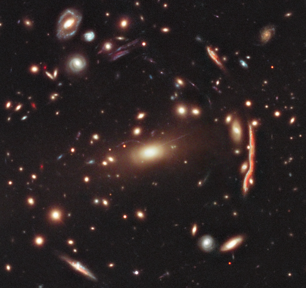 Astronomers Map Dark Matter Throughout the Entire Universe