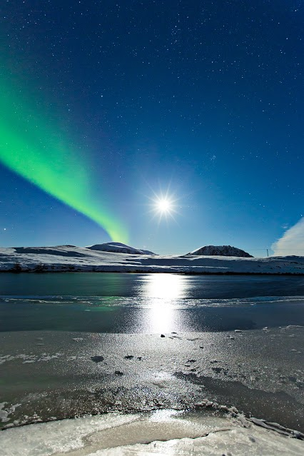 Aurora seen over northern Norway on October 22, 2013. Credit and copyright: Frank Olsen.