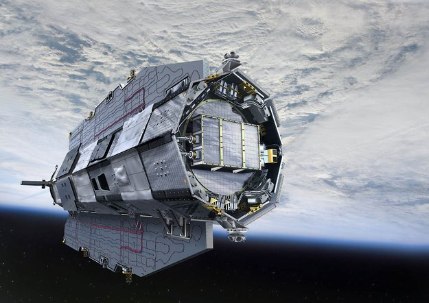 goce satellite plunges back to earth without incident