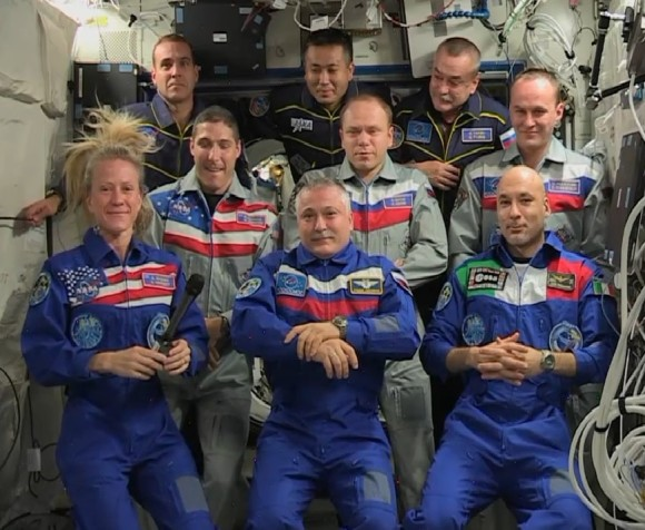 astronaut crews of the international space station role - photo #27