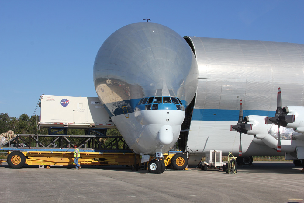 Heat Shield for 2014 Orion Test Flight Arrives at Kennedy ...