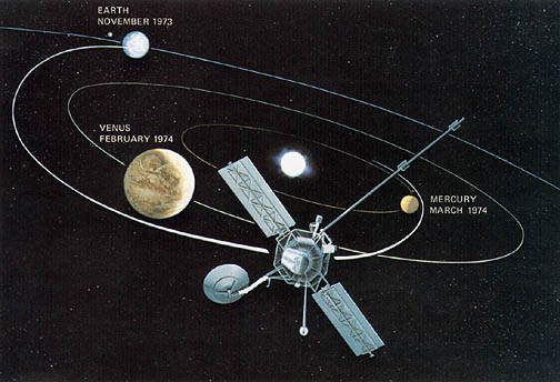 Mariner 10: Best Venus Image and 1st Ever Planetary ...