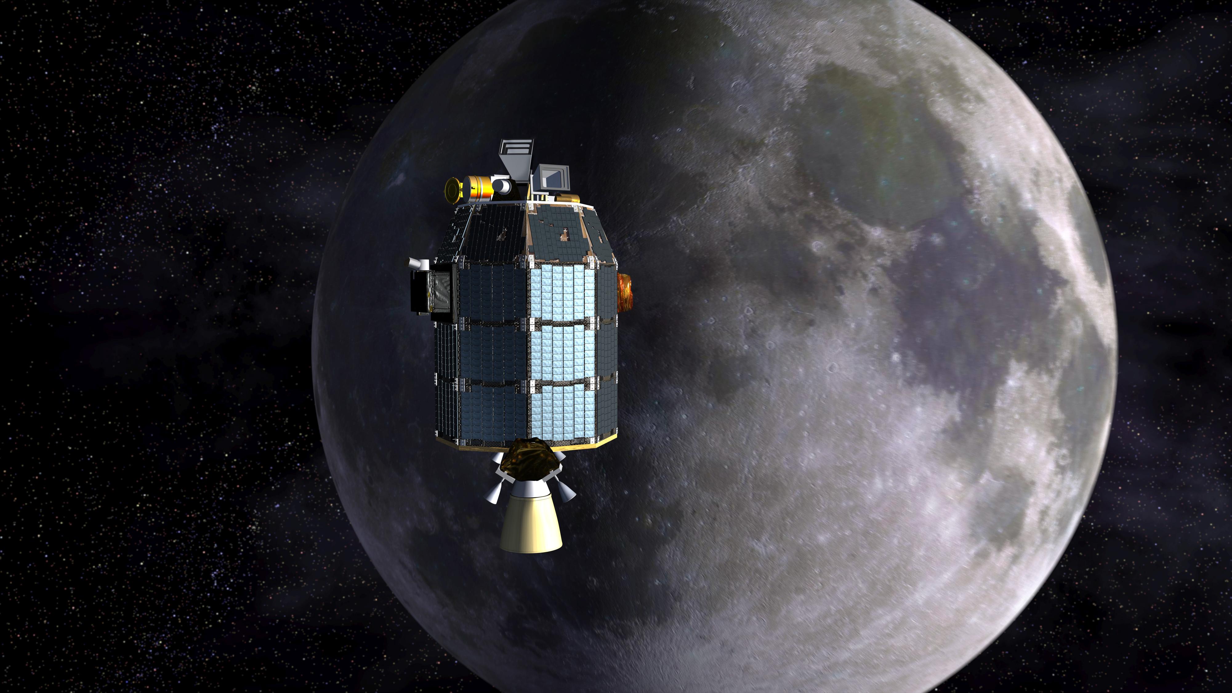 NASA Extends LADEE Dust Explorer for Bonus Lunar Science