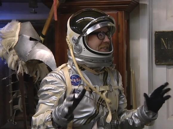 Savage Spacesuit: 'Mythbusters' Host's Mercury Costume