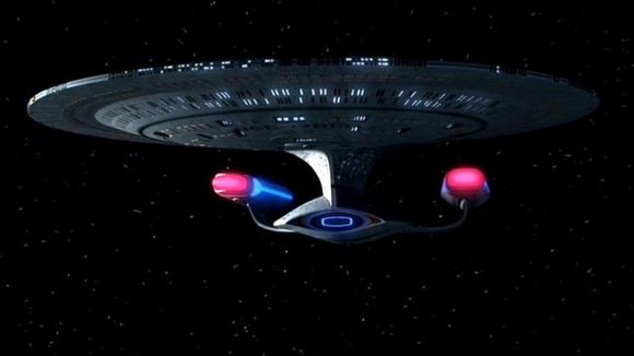 USS Enterprise NCC-1701-D, a starship of the Star Trek: The Next Generation era. Credit: Memory-Alpha.Org/Paramount Pictures/CBS Studios
