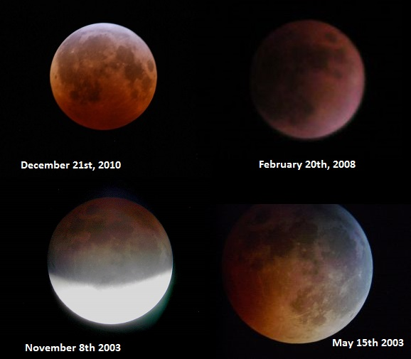 4x comparison the science behind the \u201cblood moon tetrad\u201d and why lunar eclipses