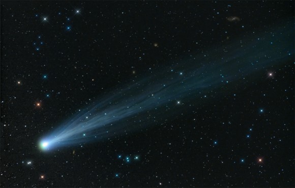 """""""Broom Star"""" -- 1st place in the Through the Telescope category: Damian Peach, Hampshire, U.K., Credit: Damian Peach"""