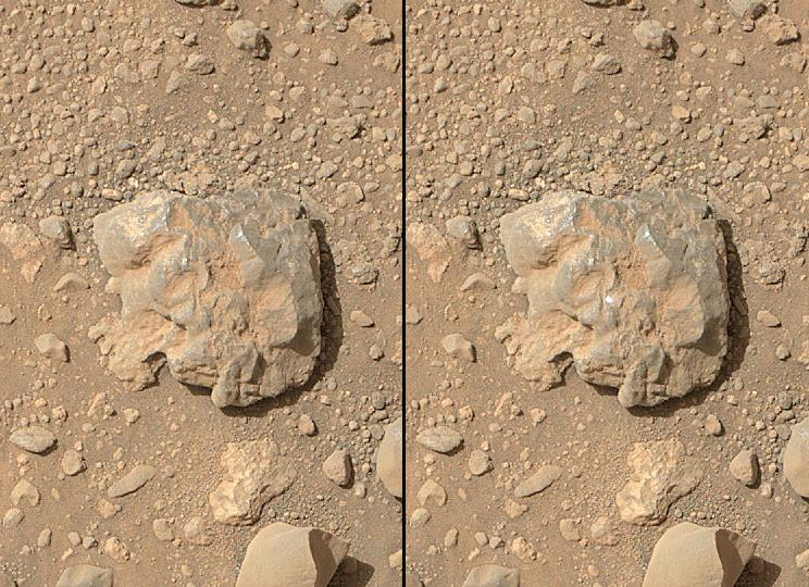 Sparks Fly on Mars as Curiosity Laser Blasts Red Planet ...