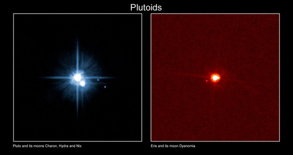 Pluto Moons Nix And Hydra S: New Horizons Enters 'Pluto-Space!' To Celebrate, Here Are