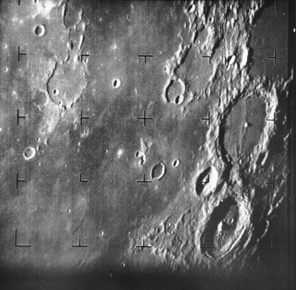 Ranger 7 Takes 1st Image of the Moon by a US Spacecraft 50 ...