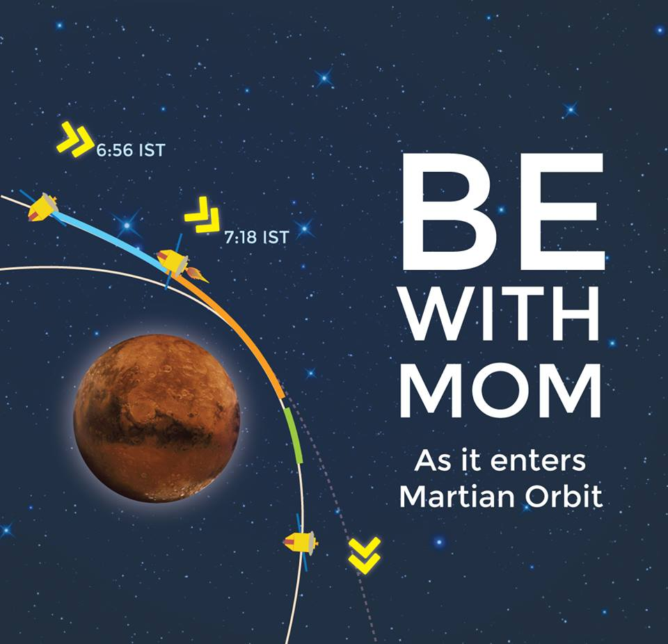 India's First Mars Mission MOM Meets Mars on Sept. 23/24 ...
