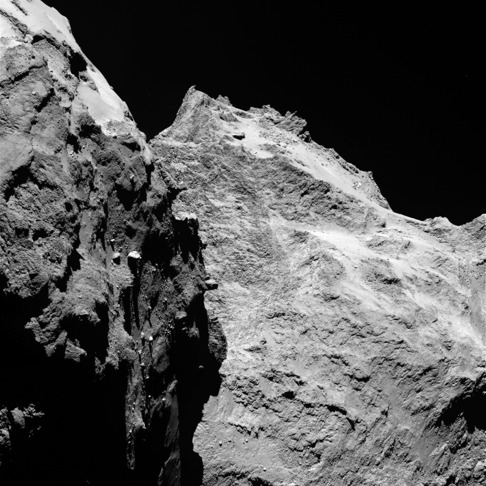 Rosetta Captures Breathtaking Comet Views Advancing ...