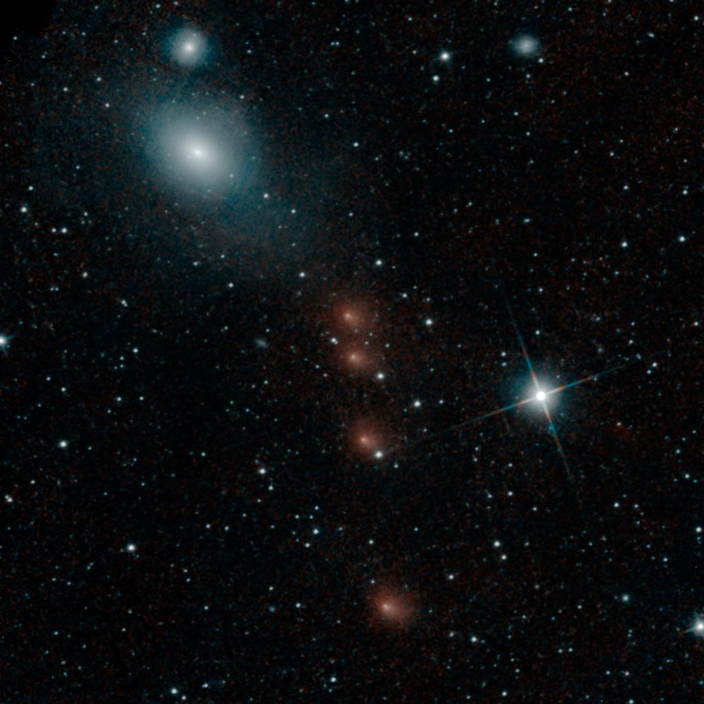 Comet A1 Siding Spring vs Mars: Views in Space and Time