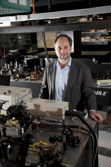"Professor Howard Wiseman, Director of Griffith University's Centre for Quantum Dynamics and coauthor of the paper on the ""Many Interacting World"" theory. (Photo Credit: Griffith University)"