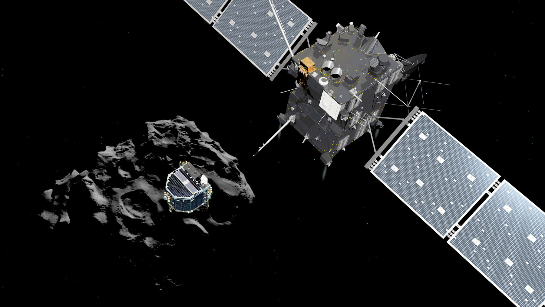 We Land on a Comet Today! Updates on Philae's Progress
