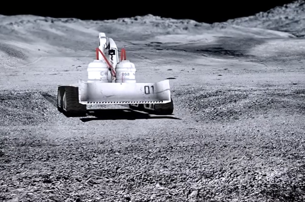 Smart Robots Could Build 'Snow Forts' On The Moon One Day