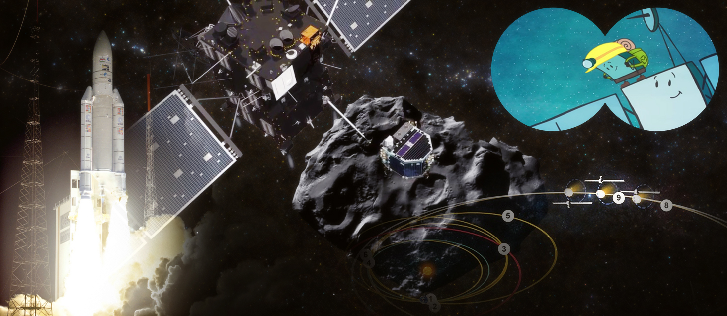 Philae Ready to Take Flying Leap to Historic Comet Landing ...