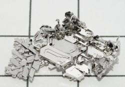 Platinum crystals. Credit: Periodictableru