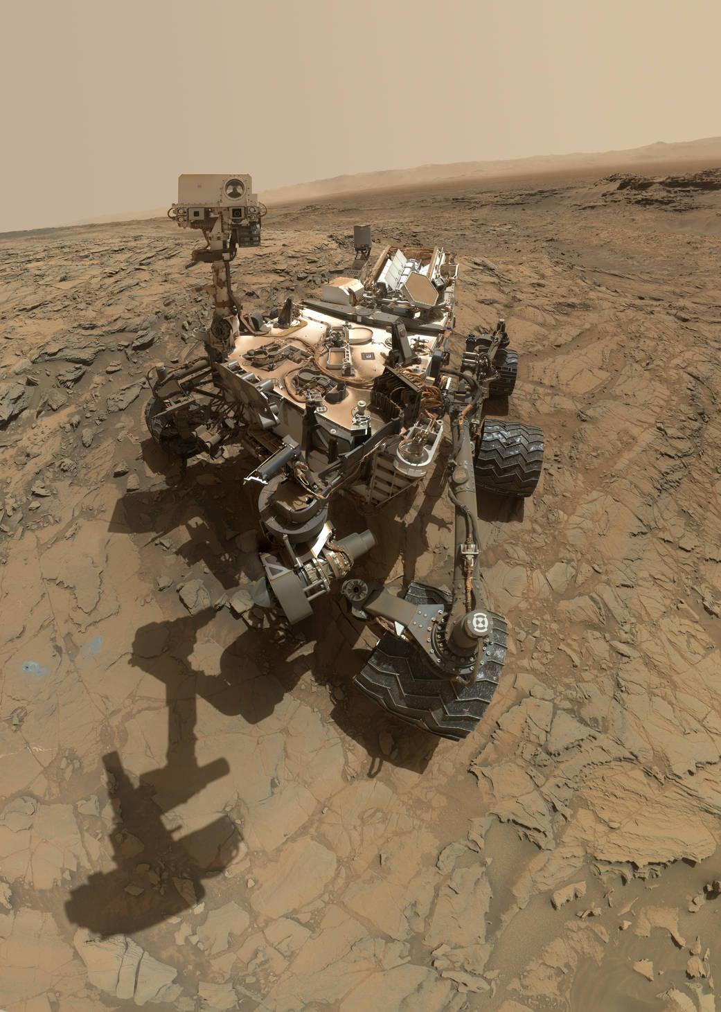 Curiosity Snaps 'Big Sky' Drill Site Selfie at Martian ...